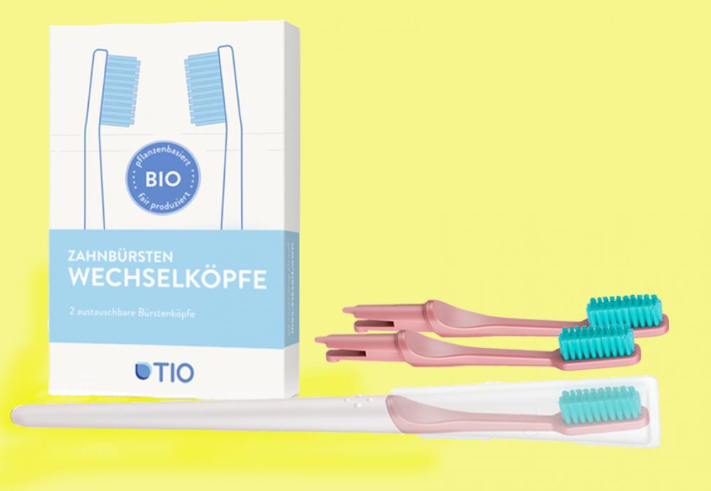 TIO Wechselkopf-Zahnbürsten-Set (reduzierter Einführungspreis)